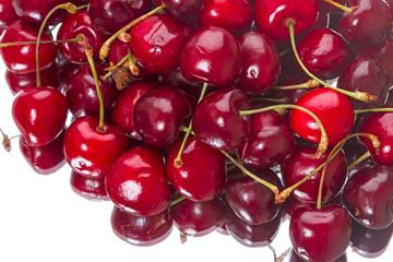 Large bunch of cherries