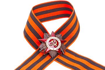 Order of the Patriotic War on ribbon