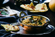 dhal with pumpkin. Indian cuisine - 76317736