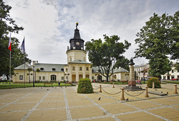 Former town hall in Siedlce. Poland