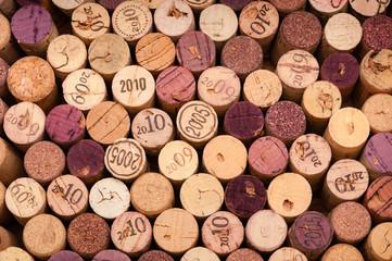 Weinkorken von oben