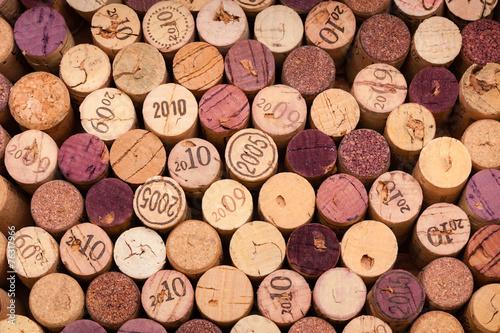 Weinkorken von oben - 76317966