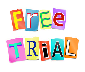 Free trial concept.