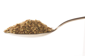 Spoonful of Ground Nut Mix