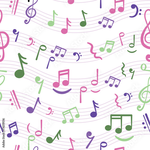 music notes - 76319516