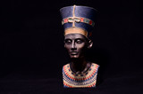 Famous Statuette Bust of Queen Nefertiti