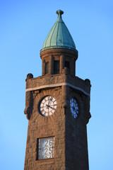 Hamburg Landungsbrücken Turm