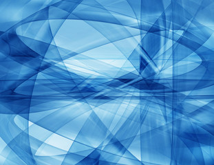 Abstract background-Blue waves