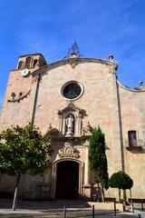 Sant Vicenc Church in Tossa de Mar, Girona, Spain