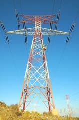 Electric Power Line Pylon