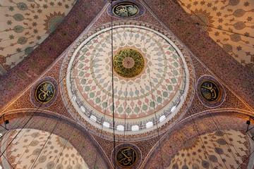 Yeni Camii ceiling