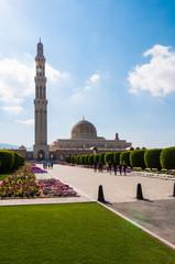 Sultan Qaboos Grand Mosque, Muscat, Oman (Vertical view)