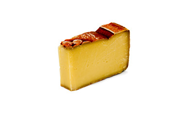 Piece of cheese Mont Vully