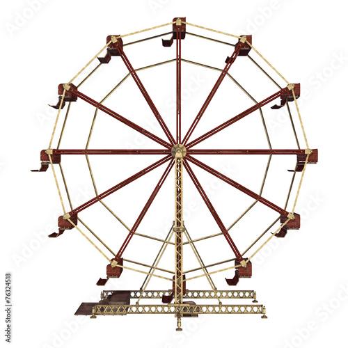 Keuken foto achterwand Carnaval Ferris Wheel