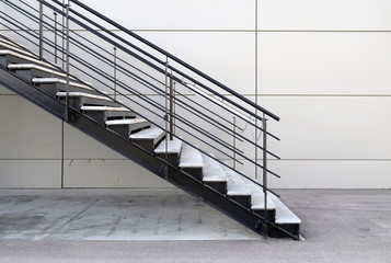 industrial stairs exterior
