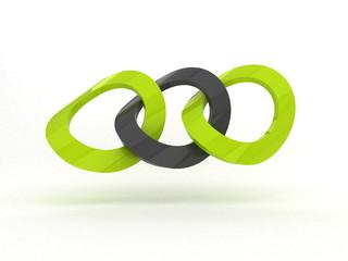 Logo catena - astratto - sicurezza