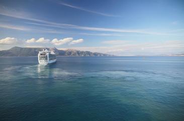 In Ionian Sea near of Corfu, Greece