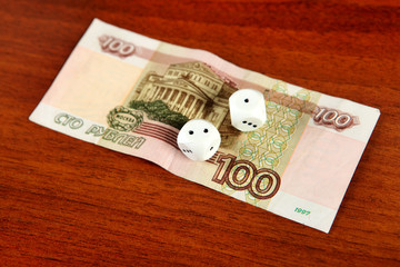 Hundred Roubles and Dices