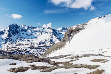Summer on the glacier.