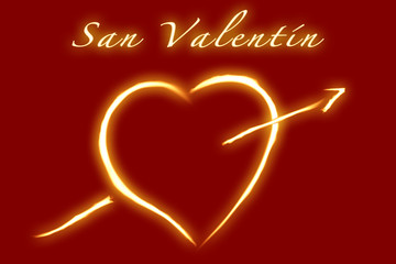 Valentine's Day - Spanish writing