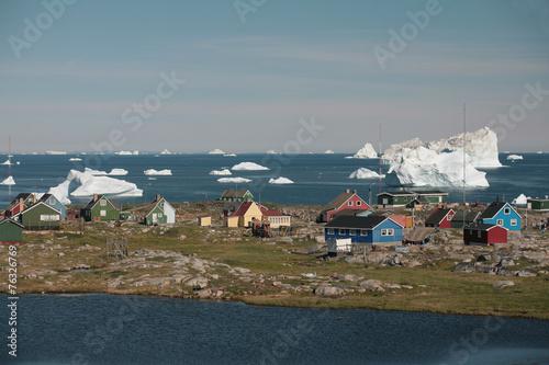 Fotobehang Antarctica 2 Qeqertarsuaq auf der Diskoinsel