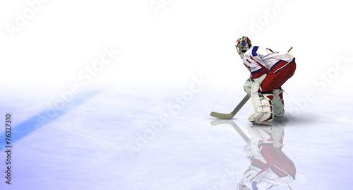 Foto op Aluminium Wintersporten Eishockey