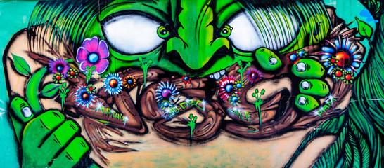 graffiti monstre