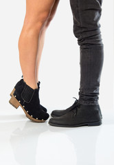 Stand on toes to kiss