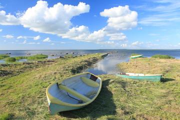 Boats, Vormsi island, Estonia