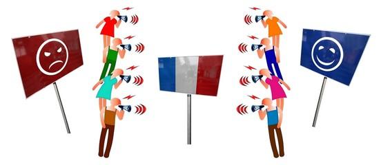 """Débat  """"France: pessimistes vs optimistes"""""""