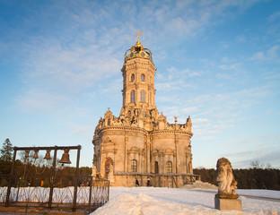 Дубровицы Московская область Храм Знамения Пресвятой Богородицы