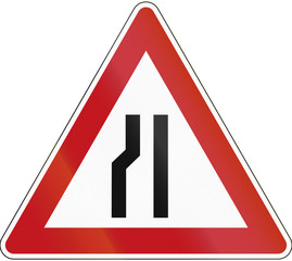 Left Narrow Road