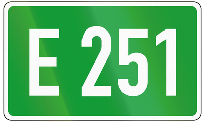 European Road 251