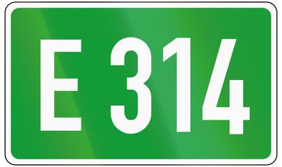 European Road 314