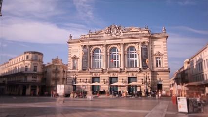 Timelapse hyperlapse Montpellier Comédie