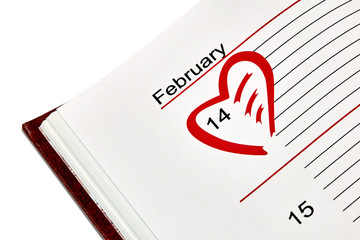 Valentine's Day Organizer