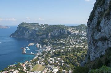 Capri - Blick von Anacapri