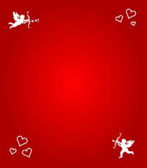 Herzen und Engel