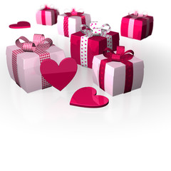 Thickness Gifts polka caro white