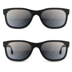 Classic sunglasses vector template