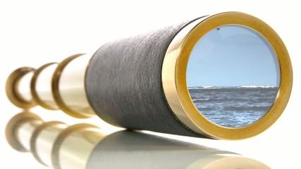 Fernglas - Meer