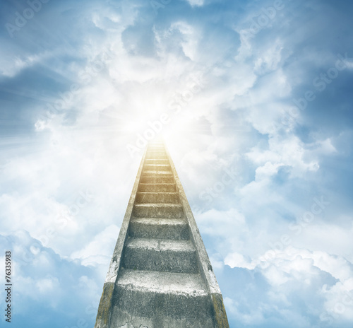 Papiers peints Escalier Stairway to heaven
