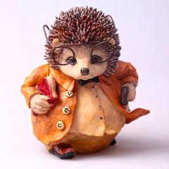 old toy hedgehog