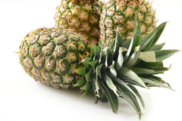 Whole pineapples