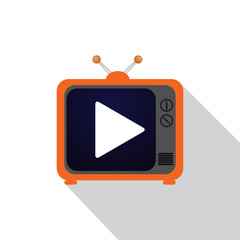 Icon TV flat