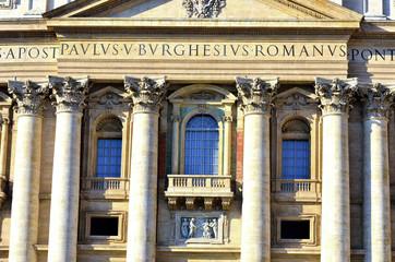 glimpse of Piazza San Pietro, Citta del Vaticano