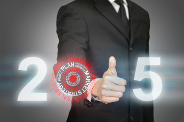 Fulfilling 2015 business target
