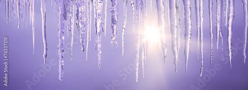 Tuinposter Gletsjers Eiszapfen