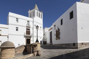 Церковь Санта Крус. Кадис. Испания.