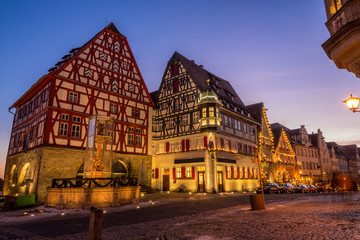 Rothenburg - medieval town in Germany